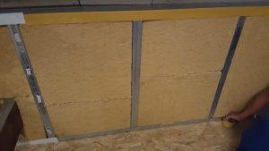 Isolaton des murs en fibre de bois