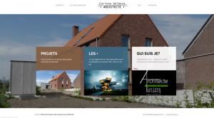 Création de site web pour un architecte