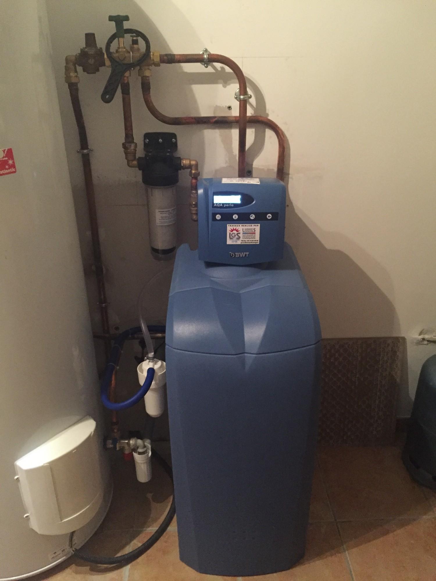 Fonctionnement Dun Adoucisseur Deau Renover Ma Maison - Adoucisseur d eau salle de bain