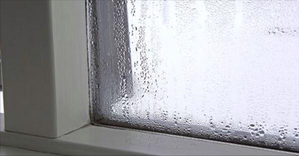 humidité de condensation fenetre