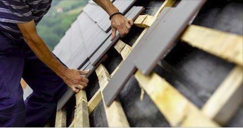 Couverture de toiture en tuille