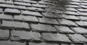 Couverture de toiture en ardoise